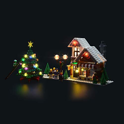 LIGHTAILING Licht-Set Für (Creator Weihnachtlicher Spielzeugladen) Modell - LED Licht-Set Kompatibel Mit Lego 10249(Modell Nicht Enthalten)