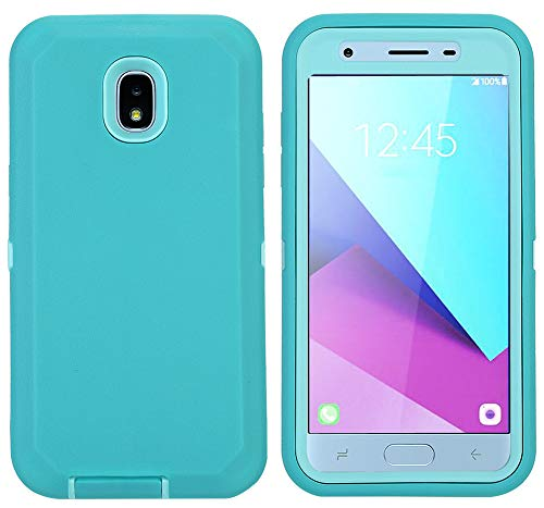 Aimoll-88 OnePlus 6T Case, Hybrid High Impact Resistant Rugged Full-Body Shockproof Tri-Layer Heavy Duty Case with [Built-in Screen Protector] & [Kickstand] for 1+ 6t (Green/Green)