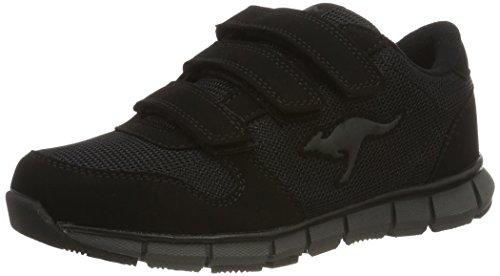 KangaROOS Unisex-Erwachsene K-BlueRun 701 B Sneaker, Black/Dark Grey 0522, 44 EU