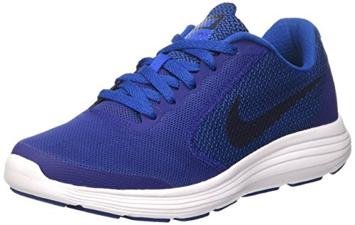 Nike Damen Revolution 3 Bg Laufschuhe, Blau (Deep Royal Blue/Obsidian/Blue Jay/White), 40 EU