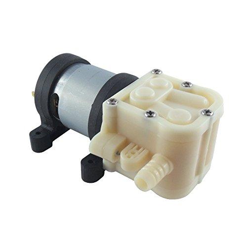WITTKOWARE Membran-Wasserpumpe, selbstansaugend, 12V-, 3l/min, Gummilager