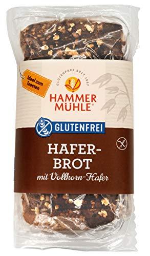 Hammermühle Haferbrot glutenfrei 500g