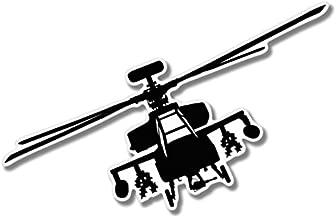 AK Wall Art Military Helicopter Vinyl Sticker - Car Window Bumper Laptop - Select Size