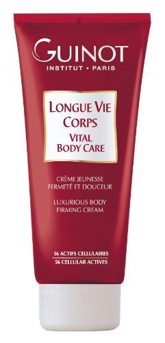 guinot longue Vie Corps Loción Corporal con ácido hialurónico, straffende Anti Age Crema, 200ml