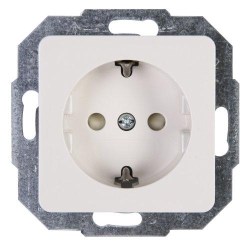 Kopp 915013085  Milano Schutzkontakt-Steckdose mit erhöhtem Berührungsschutz