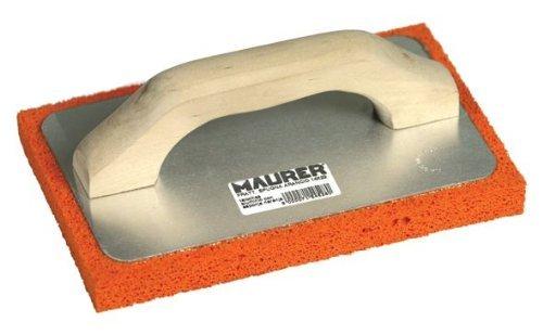 Preisvergleich Produktbild Kelle 220x140mm Aluminium 20mm dicke Basis-Orange Sponge Medium Grain