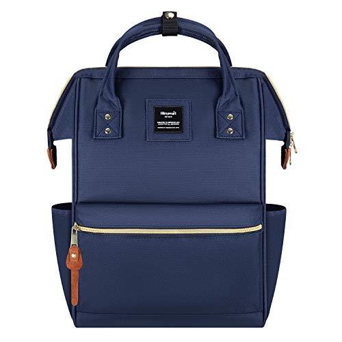 Hethrone Damen Rucksack Laptop Backpack 15,6 Zoll Wasserdicht Schulrucksack Anti Diebstahl Tagesrucksack ür Schule Uni Reisen Freizeit Job mit Laptopfach Marine