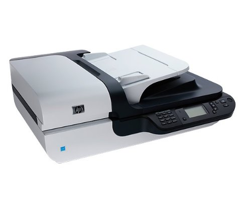 HP Scanjet N6350 Networked Document Flatbed Scanner - Escáner