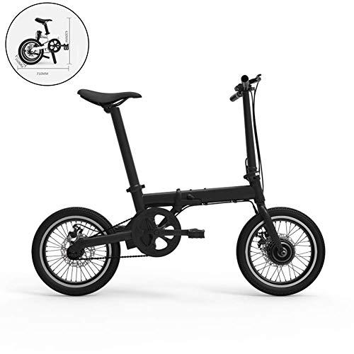 GJJSZ Bicicleta eléctrica 36V Bicicleta eléctrica Ebike de 250W Plegable de 16...