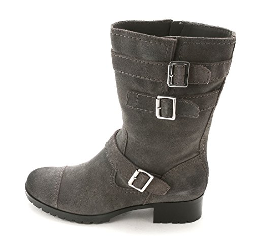 Marc Fisher Arianna Women US 11 Gray Mid Calf Boot