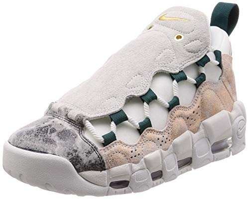 Nike W Air More Money LX, Scarpe da Basket Donna, Multicolore (Summit White/Summit White/Oil Grey 101), 40 EU