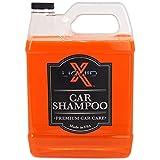 Liquid X Car Shampoo - Ultra Sudsy, pH Neutral Formula for Safe Washing (1 Gallon)