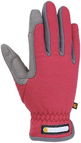 Carhartt Women s Flex Breathable Spandex Work Glove Wild Rose Grey Small product image