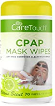 Care Touch CPAP Cleaning Mask Wipes - Citrus Scent, Lint Free - 70 Wipes Each (70 Wipes)