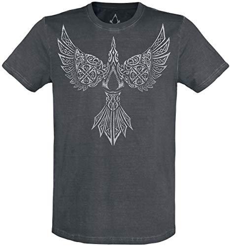 Assassin's Creed Valhalla - Raven Männer T-Shirt schwarz L