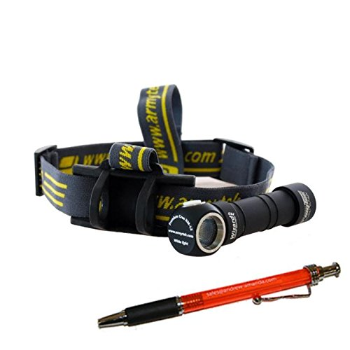 Combo: Armytek Wizard Pro v3 XHP50 (Warm) USB Magnet Rechargeable Headlamp -2150 Lumens -Battery Included +Bike Mount