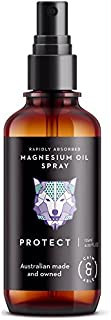 Caim & Able Magnesium Oil Spray Bottle PROTECT Lavender & Rosemary Essential Oils 125ml - Australian Made Pure Amazing Ancient Magnesium Chloride Supplement - Transdermal Dermal Topical Therapy Skin