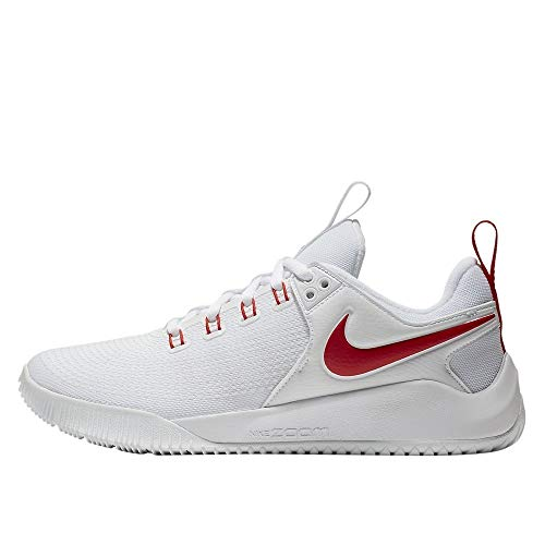 Nike Scarpe Volley - Air Zoom HYPERACE 2 - AR5281-106 - Wht/Universal RED-45.5