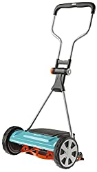 Gardena Comfort cylinder mower 400 C: hand lawn mower with 40 cm working width for up to 250 m² lawn, knife roller made of quality steel, non-contact cutting technology (4022-20)