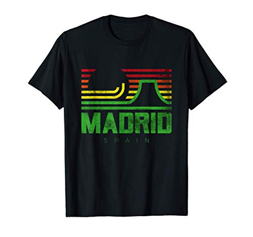 I Love Madrid Spain Novelty Graphic T-Shirts & Cool Designs Camiseta