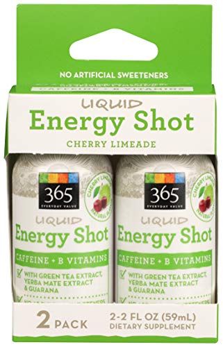 365 Everyday Value, Energy Shot, Cherry Limeade, 2 ct