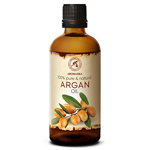 Huile de Argan 100ml - Argania Spinosa Kernel Oil - Maroc - 100% Vierge - Pressé À Froid - Meilleur pour la Peau - Cheveux - Beauté - Massage - Agent Pur - Excellent avec Huile Essentielle
