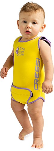 Cressi Warmer Bañador, Unisex bebé, Amarillo, 12/18 Meses