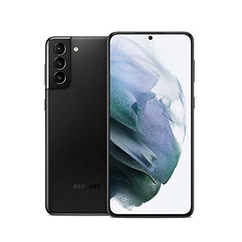 Samsung Galaxy S21+ Plus 5G | Factory Unlocked Android Cell Phone | US Version 5G Smartphone | Pro-Grade Camera, 8K Video, 64MP High Res | 128GB, Phantom Black (SM-G996UZKAXAA) (Renewed)