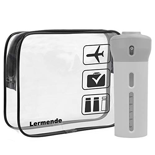 Lermende Portable Soft Silicone Travel Bottles...
