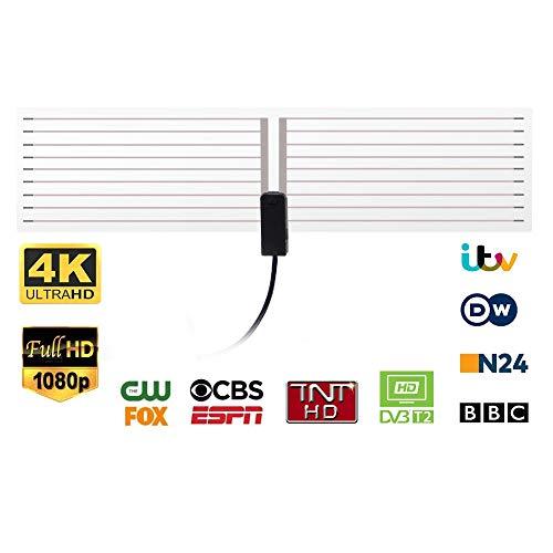 August DTA400 TV-Antenne - Antenne für DVB-T2 / Digital TV / DVB-T2 Tuner Stick