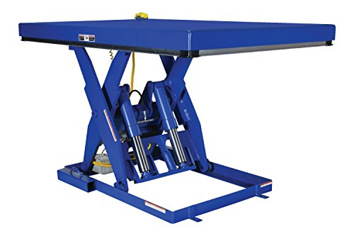 Vestil EHLT-3672-6-44 Electric Hydraulic Lift Table, 6000 lb, 8' Height