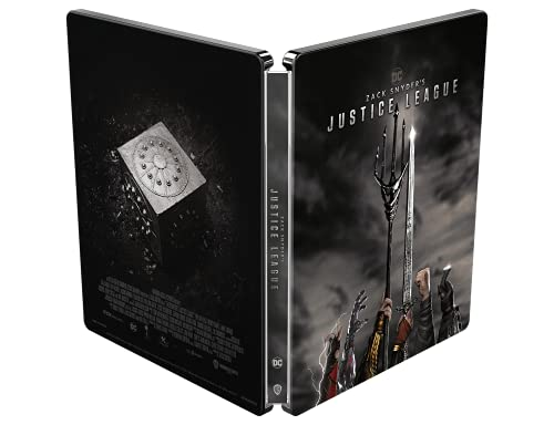 Zack Snyder's Justice League Steelbook (4K Ultra HD + Blu Ray)