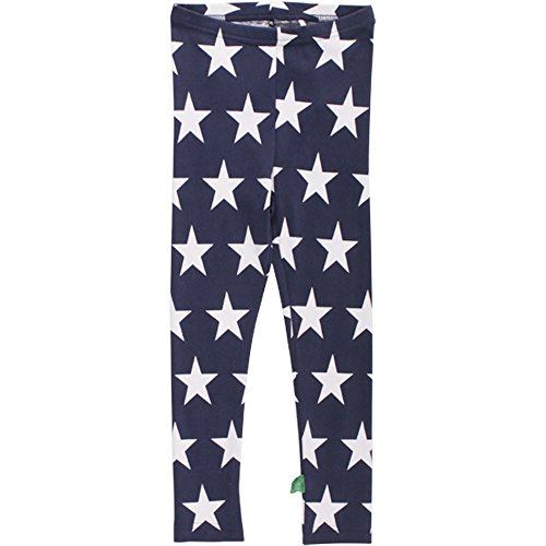 Fred'S World By Green Cotton Star leggings baby, Bleu marine (019392001), 3 mois Mixte bébé