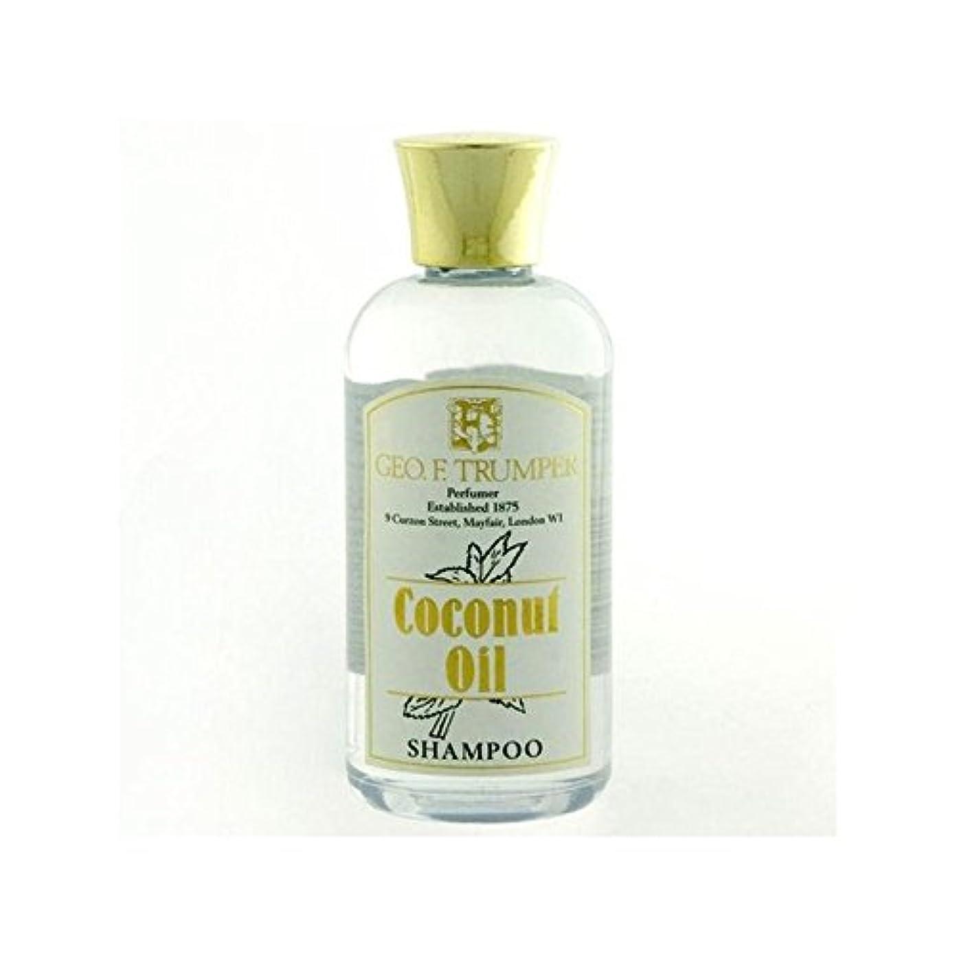 クライアントオーバーラン統計Trumpers Coconut Oil Shampoo - 100ml Travel (Pack of 6) - ココナッツオイルシャンプー - 100ミリリットル旅 x6 [並行輸入品]