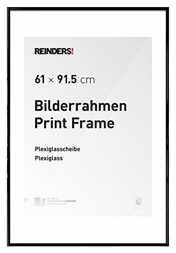 reinders® Bilderrahmen für Maxi Poster 61 x 91,5 cm - schwarz Kunststoff