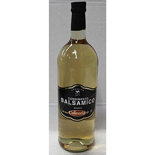 Culinaria Condimento Balsamico Bianco Weinessig Premium (1 Liter Flasche)