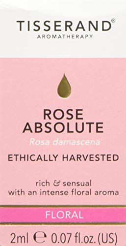 Tisserand Aromatherapy Rose Absolute Ethically Harvested Essential Oil 2 ml