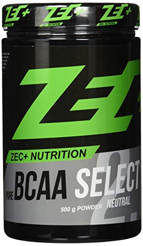 Zec+ BCAA Select, Unflavored, 500 g