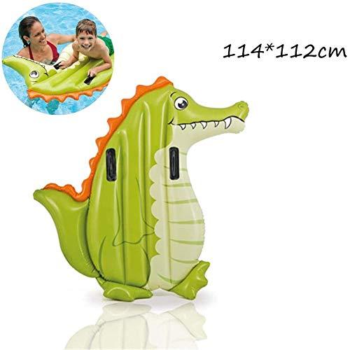 GBX Wasser Freizeitstuhl Krokodil kleine schwimmende Reihe aufblasbares Wasserbett