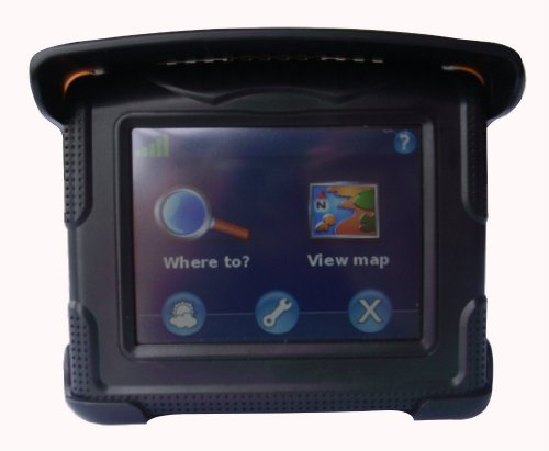 Lowest Prices! Motorcycle & Car Waterproof 3.5 Touch GPS Navigator Fully Loaded USA & Canada Maps