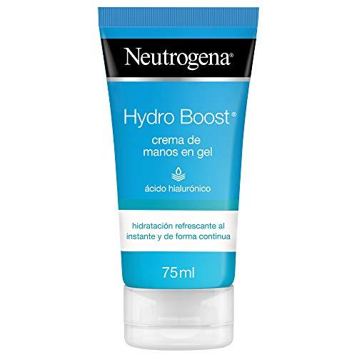 Neutrogena Hydro Boost - Crema de manos hidratante en gel, para pieles normales o secas, 75 ml