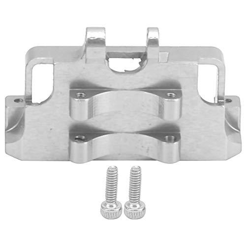 01 Soporte de Montaje de servo de aleación de Aluminio, Soporte de servo de dirección Aleación de Aluminio Pequeño y Ligero Resistente a la oxidación para el servo de Montaje(Silver)