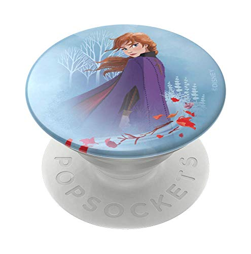 PopSockets: PopGrip with Swappable Top for Phones & Tablets - Frozen - Anna Forest Gloss