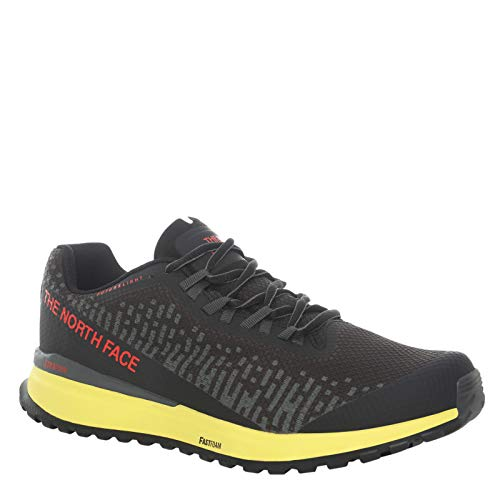 The North Face Ultra Swift Futurelight - Zapatillas de Trail Running para hombre (TNF Black/TNF Yellow Negro Size: 41 EU