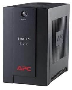 APC Back-UPS BX - BX500CI - Unterbrechungsfreie Stromversorgung 500VA (AVR, 3 IEC Ausgänge)