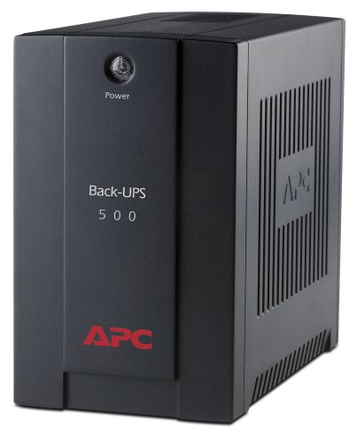 APC by Schneider Electric Back-UPS BX - BX500CI - Uninterruptible Power Supply 500VA (AVR, 3 Outlets IEC-C13)