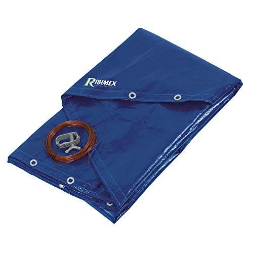 Ribimex PRBP140R52 Telone per Piscina Rotonda, Diametro 5.20 m, Blu
