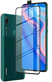 Tempered Glass For Huawei Y9 Prime 2019 Full Screen Protector - Black Frame