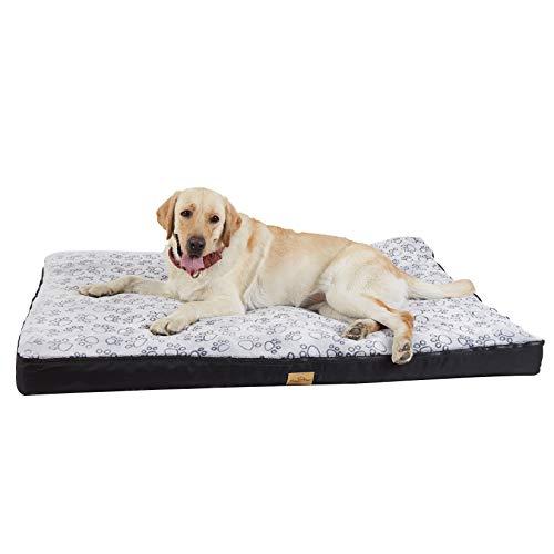 BingoPaw Cama para Perros Grandes 135 x 100 x 10cm Sofá Impermeable y Lavable con Cojín Extraíble Cómoda Casa para Mascotas Perros Gatos Tamaño XXXL