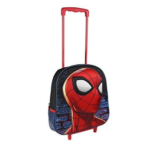 Kidz Corner Spiderman kinderrugzak, 75 cm, 65 liter, blauw (blauw)